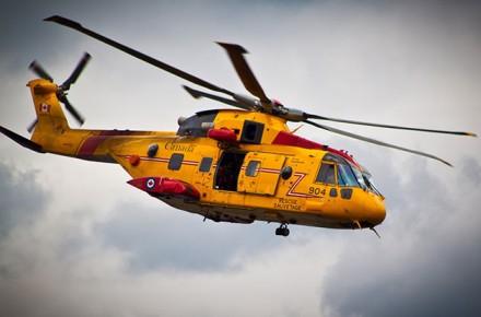Piloto de rescate, Rescate en Helicoptero