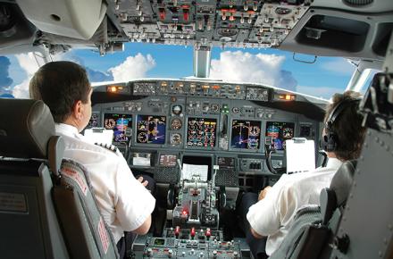 Escuela de vuelo, convertirse en pilotos, Piloto comercial, Capitán de aviones comerciales