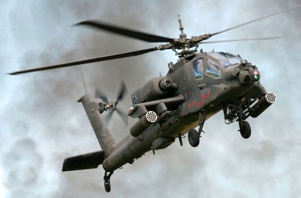 Helicoptero Ah 64 Apache