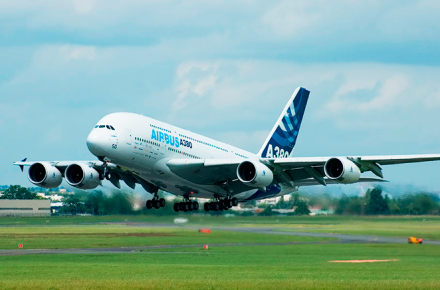 Avion de pasajeros mas grande del mundo