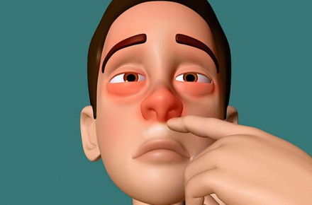nariz congestionada