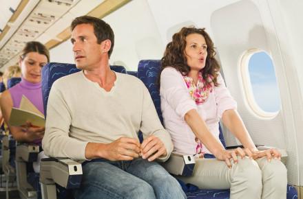 relajarse durante un vuelo