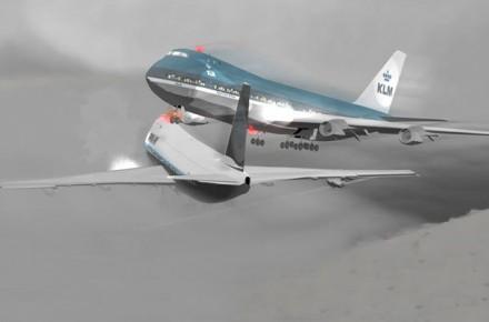 La mayor catastrofe aerea de la historia