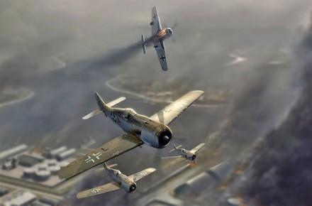 combates aereos