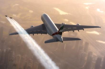 Jetman y Airbus A380