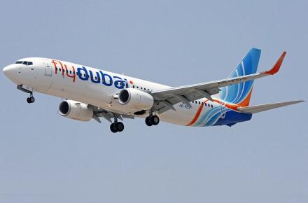 Boeing 737-800 de FlyDubai
